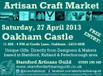 Oakham Castle Craft Market